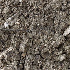 Soil from the Les Alouettes Vineyard